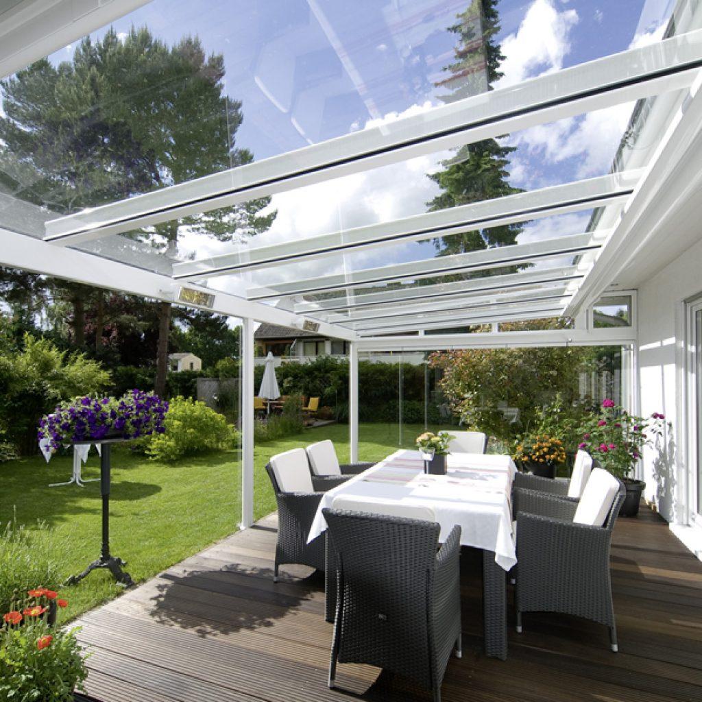 Terrassendacher Ea Fenster Sonnenschutz